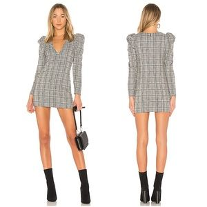 Lovers + Friends Reyes Plaid Dress
